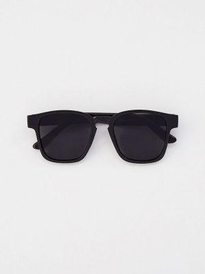Черные солнцезащитные очки квадратные Bocciolo