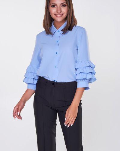 Блузка прямая с вырезом Valentina