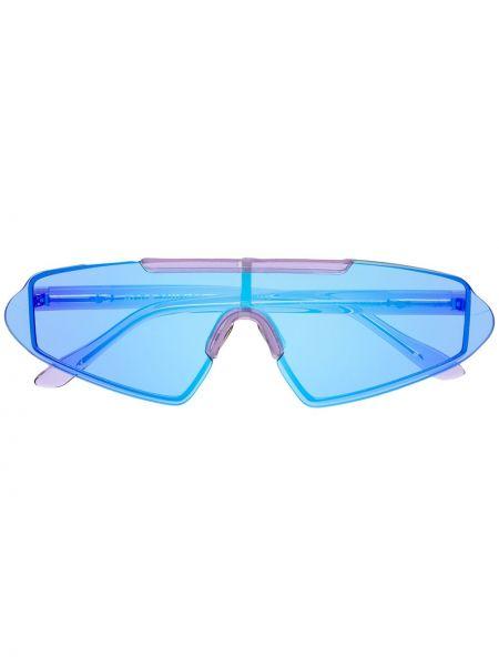 Okulary srebrne - niebieskie Acne Studios