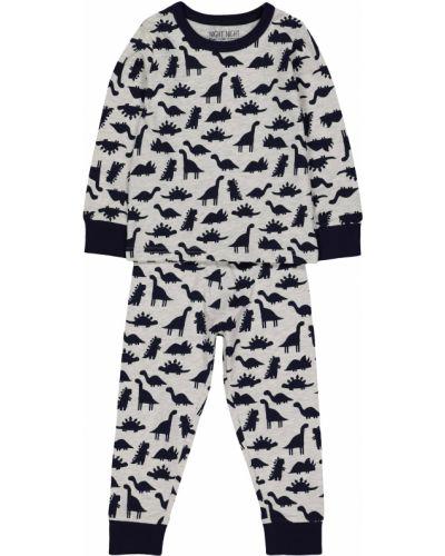 Пижама серая синяя Mothercare