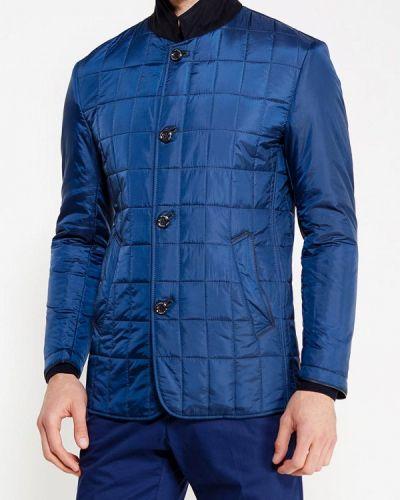 Утепленная куртка демисезонная синяя Riggi
