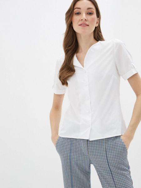 Белая блузка с коротким рукавом Am One