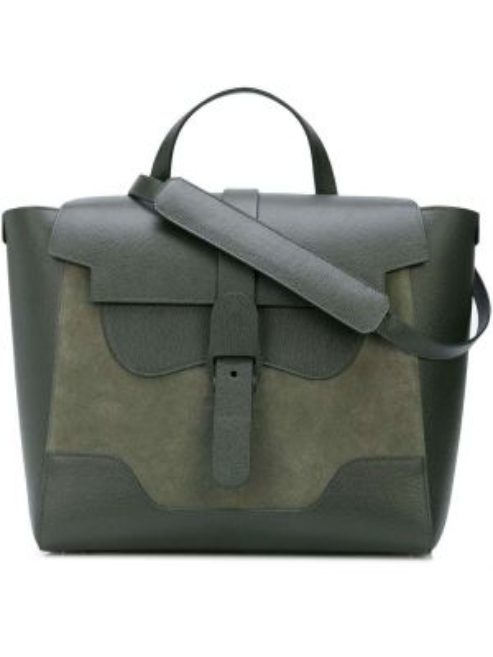 Zielona torebka skórzana Senreve