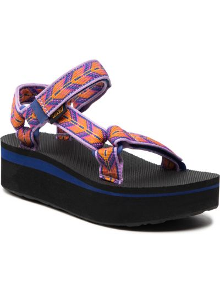 Fioletowe sandały casual Teva