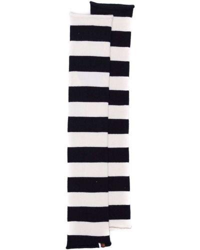 Rękawiczki bez palców - białe Extreme Cashmere
