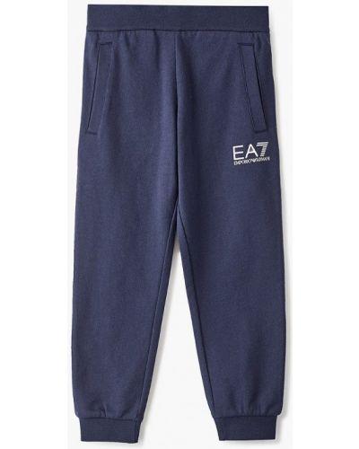 Синие брюки Ea7