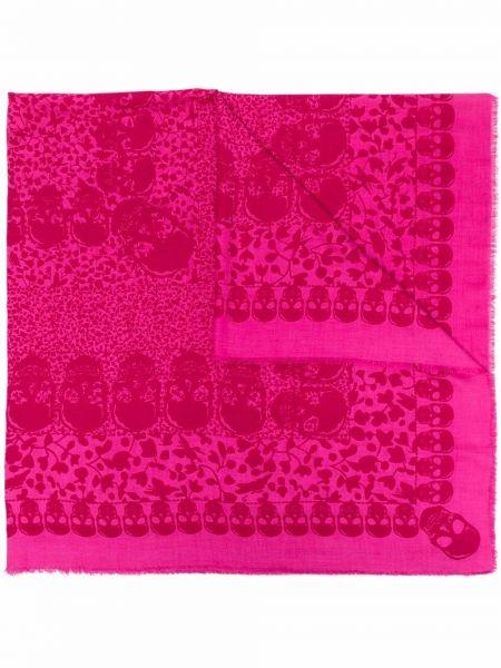 Różowy szalik Zadig&voltaire
