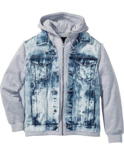Джинсовая куртка прозрачная Bonprix