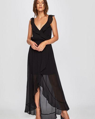 Платье миди с поясом на резинке Morgan