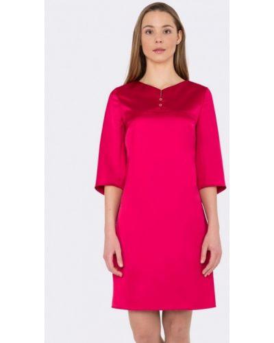 Повседневное платье весеннее розовое Cat Orange