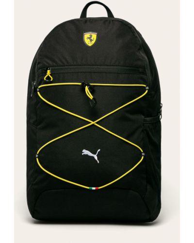 Plecak na laptopa z wzorem czarny Puma
