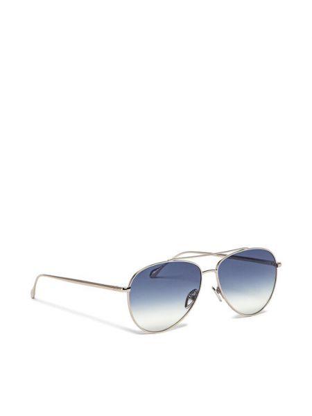 Okulary srebrne Isabel Marant