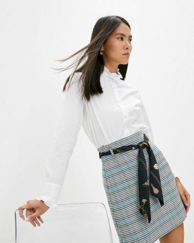 Белая зимняя блузка Gerard Darel