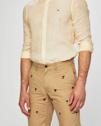 Шорты-чиносы с карманами бежевые Tommy Hilfiger