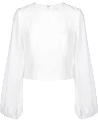 Блузка с пышными рукавами прозрачная Cinq A Sept