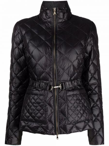 Стеганая куртка - черная Patrizia Pepe