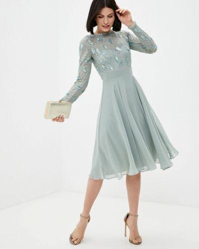 Зеленое вечернее платье Little Mistress