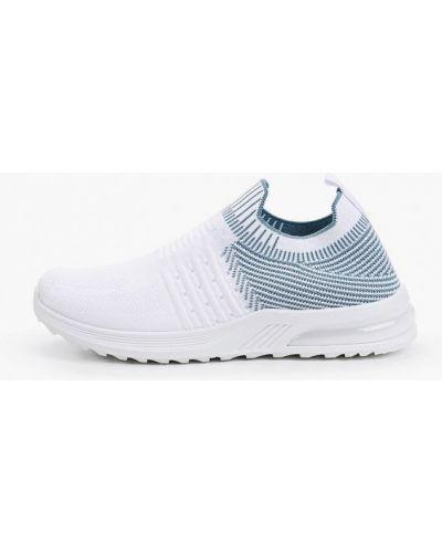 Текстильные кроссовки - белые Crosby