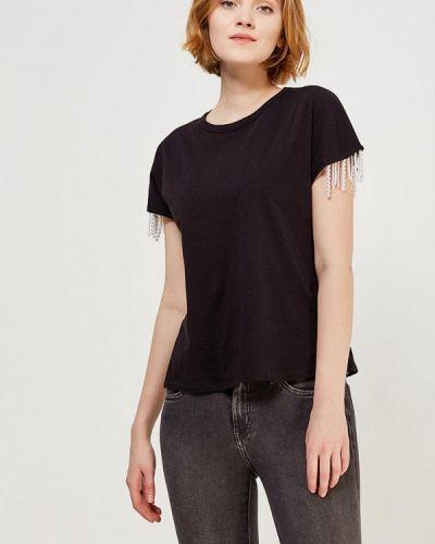 Черная футболка Zarina