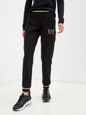 Спортивные брюки - черные Ea7