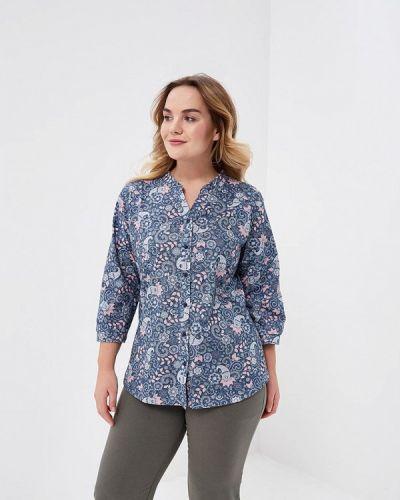 Синяя рубашка домашняя Лори