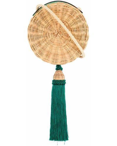 Сумка плетеная с кисточками Wai Wai