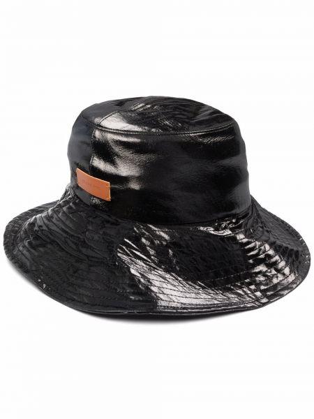 Czarna czapka bawełniana Rejina Pyo