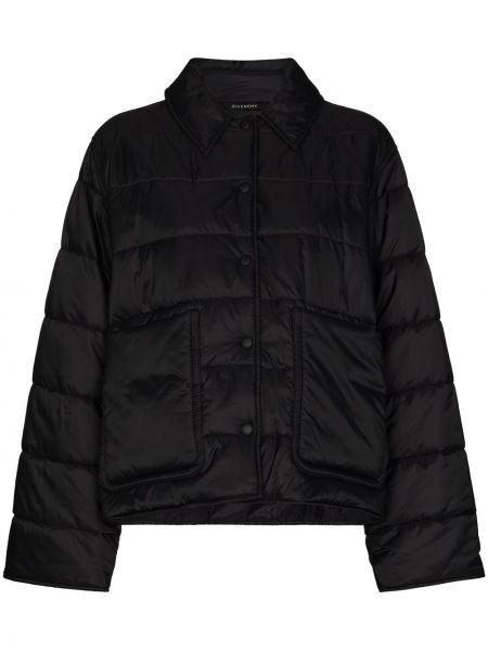 Czarna kurtka puchowa Givenchy
