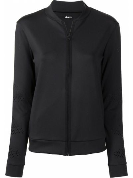 С рукавами черная куртка на молнии Ultracor