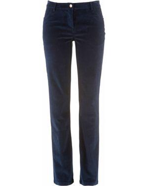 Классические брюки вельветовые розовый Bonprix