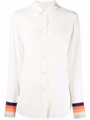 Белая рубашка в полоску Paul Smith