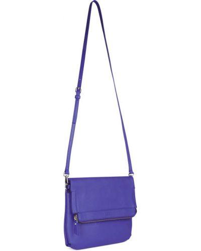 Фиолетовое боди кожаное Ecco