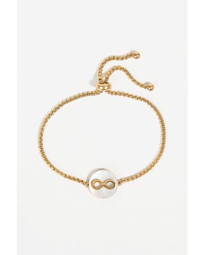 Золотой браслет из золота золотой Parfois
