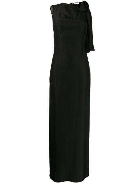 Платье с открытой спиной - черное A.f.vandevorst