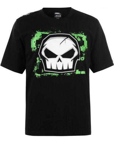 Czarny t-shirt bawełniany No Fear