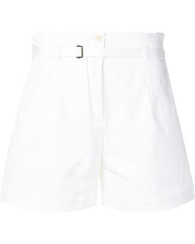 Белые шорты с карманами на пуговицах Isabel Benenato