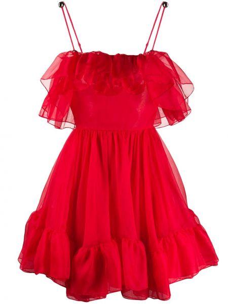 Sukienka mini bez rękawów chudy Christopher Kane