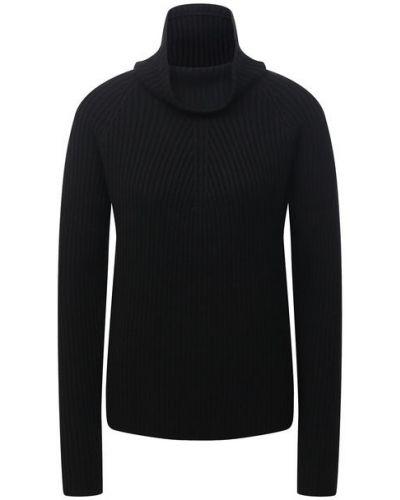 Шерстяной свитер - черный St. John