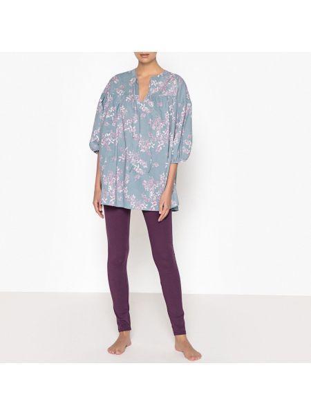 Пижама с цветочным принтом пижамный La Redoute Collections