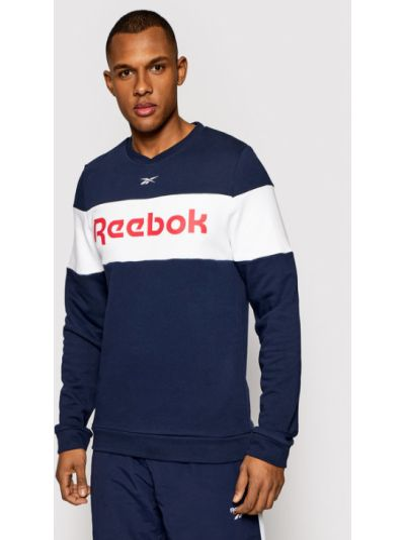 Bluza - granatowa Reebok