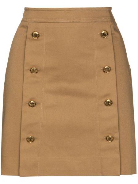 Bawełna bawełna beżowy spódnica mini Givenchy