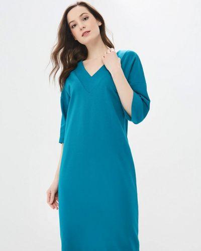 Платье бирюзовый осеннее Elena Kulikova