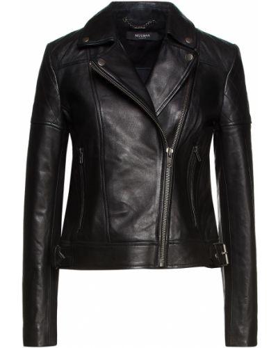 Черная стеганая куртка Muubaa