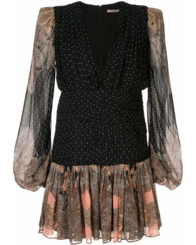 Платье с декольте - черное Thurley