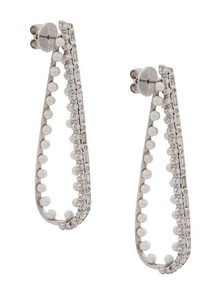 Kolczyki ze sztyftem kolczyki pierścionki z perłami Colette