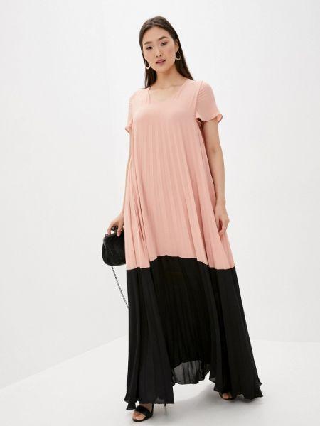 Розовое платье Blugirl Folies