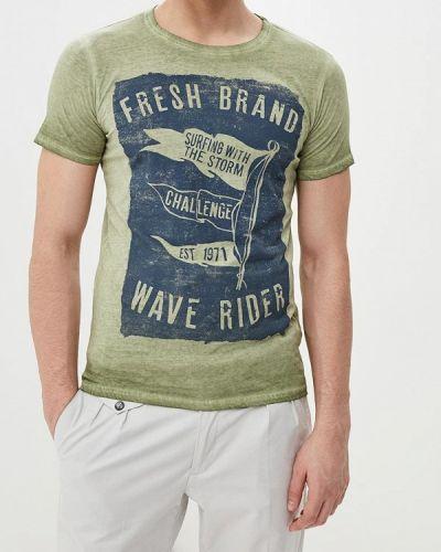 Футболка - зеленая Fresh Brand