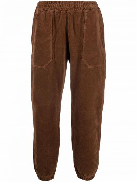 Brązowe spodnie bawełniane Phipps