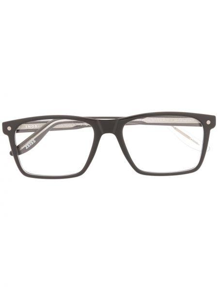 Czarne okulary Snob