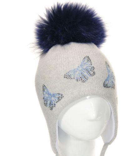 Зимняя шапка светло-серый Totti